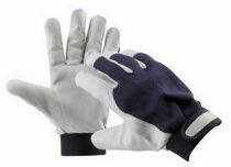 PELICAN BLUE - rukavice kozinka kombinované velikost 8