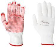 Pletené rukavice s nopkami RED FEX velikost 8 - blistr