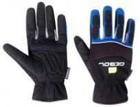 Pracovní antivibrační rukavice ANTI SHOCK velikost 10 - blistr
