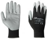 Pracovní montážnické rukavice MIDI-FLEX velikost 9 - blistr