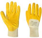 Pracovní nitrilové rukavice YELLOW NITRIL velikost 9 - blistr