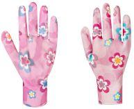 Zahradní rukavice s nitrilovou vrstvou YOUNG STYLE  velikost 7 …