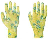 Zahradní rukavice s nitrilovou vrstvou YOUNG STYLE  velikost 8 …