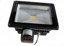 LED reflektor MCOB LED 30W s pohybovým senzorem