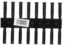 Hmoždinka univerzální TX-PP 6x30 sada 2x10 ks černá