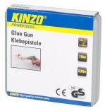 KINZO - lepící tavná pistole 7mm,230V, včetně 15ks tavných…