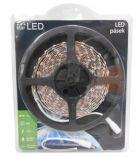 LED pásek 5m, 60LED/m, 5050, bílá, IP65