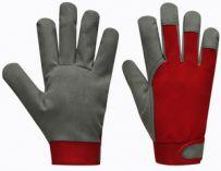 Pracovní rukavice UNI FIT ECO velikost 8, žluté - blistr