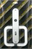 Klika plastová dveřní 72 dozická STANDARD bílá