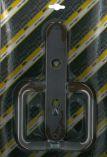 Klika plastová dveřní 72 FAB STANDARD hnědá