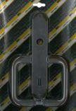 Klika plastová dveřní 90 dozická STANDARD hnědá