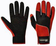 Pracovní rukavice AIR TECH červeno-černá, velikost 9