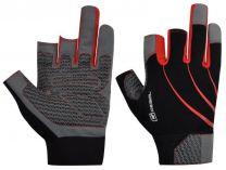Pracovní rukavice PRE TOUCH černo-šedivo-červená, velikost 10