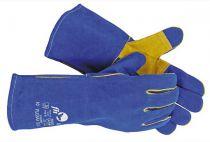 PUGNAX BLUE - rukavice celokožené svářečské - velikost 10