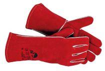 PUGNAX RED - rukavice celokožené svářečské - velikost 10