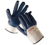 RUFF - rukavice z bavlněného úpletu s nitrilovou dlaní a tuhou…