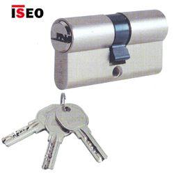 Cylindrická vložka R6 40-50 mm se třemi klíči Iseo