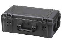 MAX Plastový kufr, 574x361xH 225mm, IP 67, barva černá