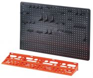 Plastový držák nářadí na stěnu 570x390x80mm