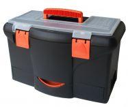 """Plastový kufr 18"""" 450x290x260mm s 1x zásuvkou"""