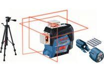 Křížový laser Bosch GLL 3-80 C Professional + stativ BT 150 - 0.9kg, ochranné pouzdro