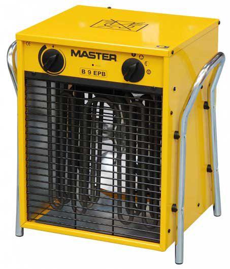 MASTER - elektrické topidlo o max. výkonu 9 kW - napětí 400V