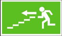 Panáček se směrem vlevo po schodišti dolů - plastová tabulka…