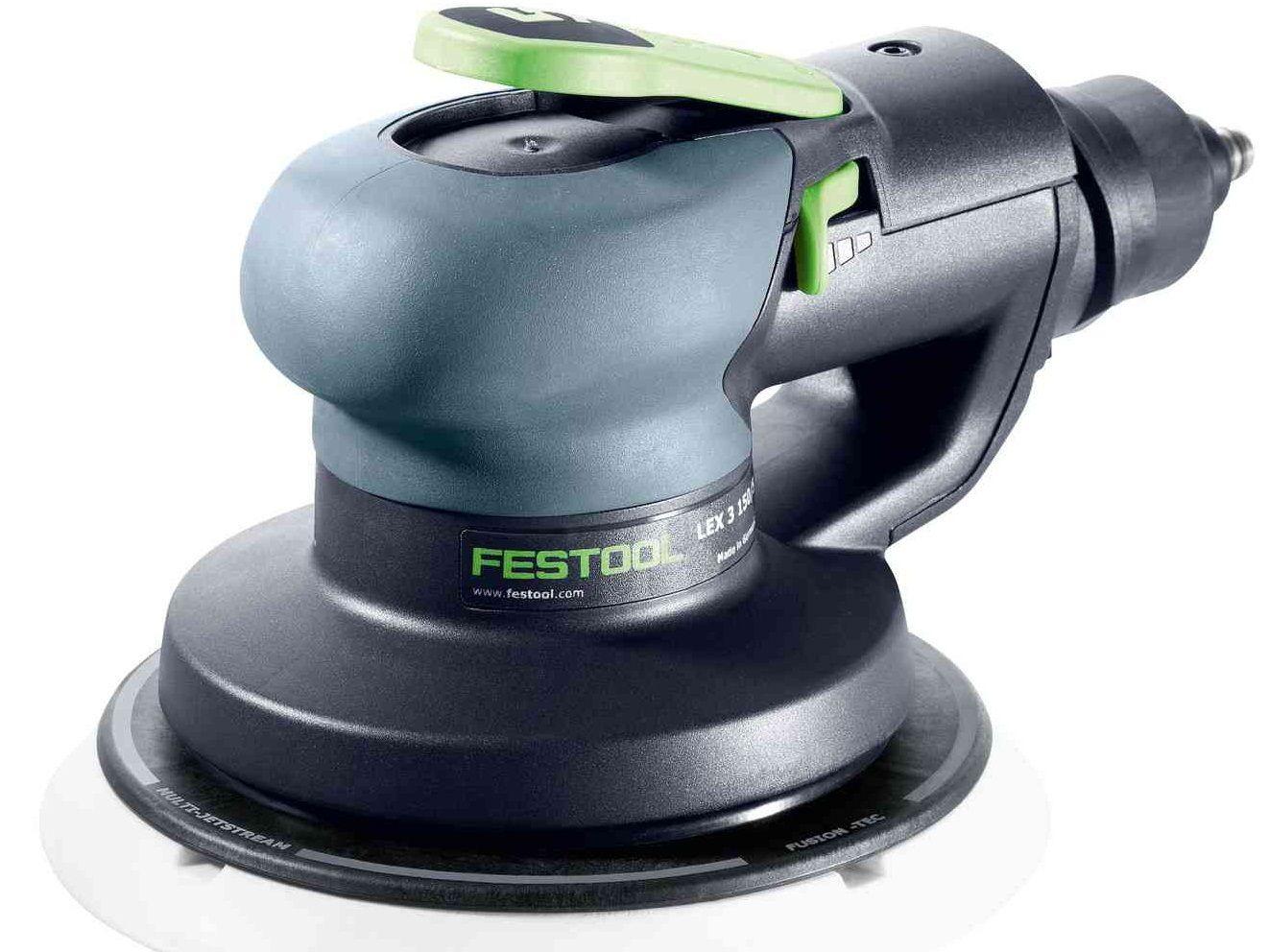 Pneumatická excentrická bruska Festool LEX 3 150/5 - 6bar, 150mm, 5mm, 1.0kg (575081)