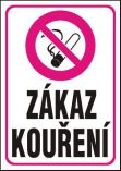 Zákaz kouření - plastová tabulka A4