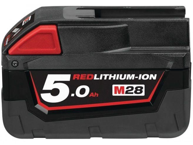 Akumulátor Milwaukee M28 B5 - 28V/5.0Ah REDLITHIUM-ION™ (4932430484)