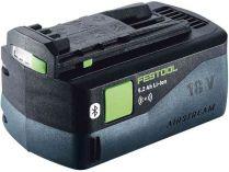 Akumulátor Festool BP 18 Li 5,2 ASI - 18V/5.2Ah Li-ion, 0.7kg, s Bluetooth