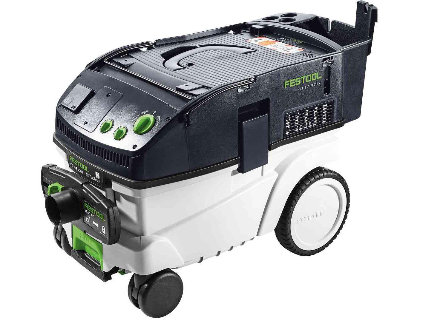 Průmyslový vysavač Festool CTL 26 E AC HD - 2400W, 26l, 14.5kg (575291)