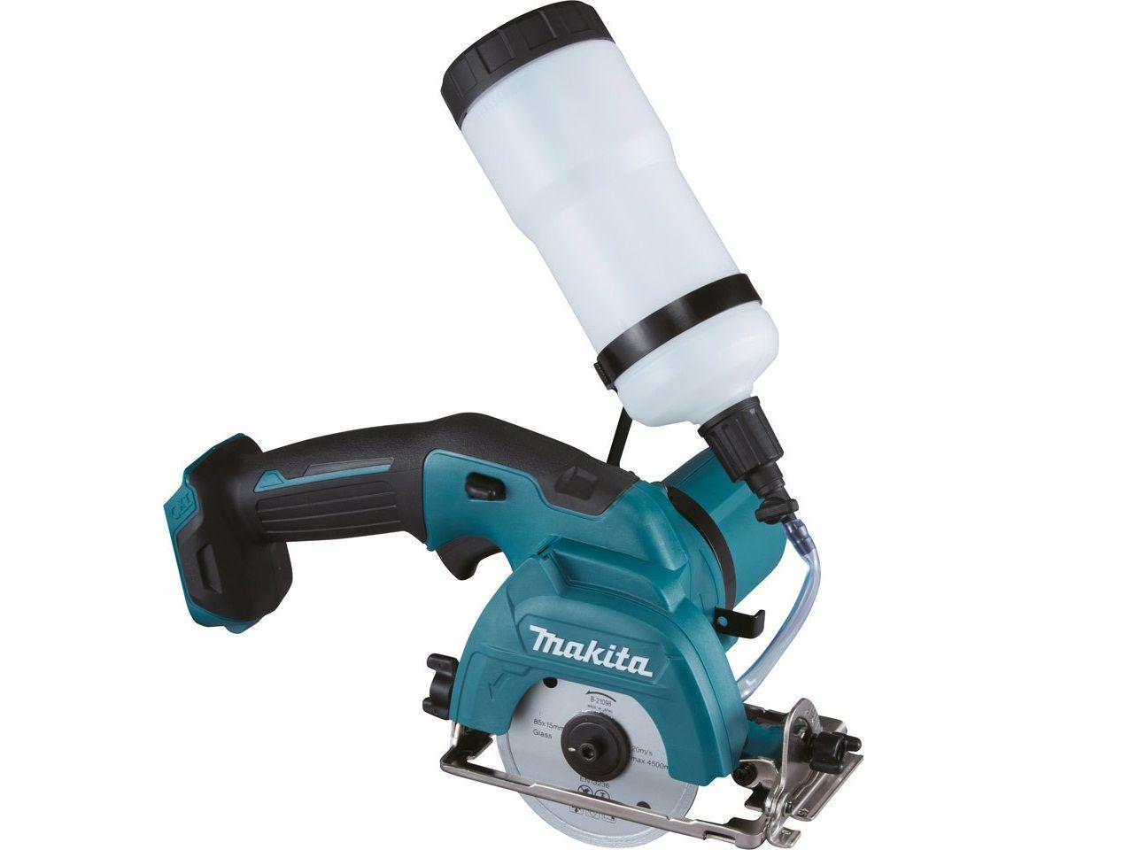 Aku řezačka na dlažbu a sklo Makita CC301DZ - 10.8/12V, 85mm, 1.8kg, bez akumulátoru a nabíječky