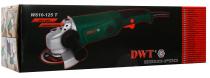DWT WS10-125 T Elektrická úhlová bruska - 125mm, 1010W, 0-11000ot/min, 2.2kg