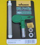 """Tryska Wagner Airless HEA ProTip L 0,017"""" (517) pro malířské barvy pro stříkací stroje Wagner Project Pro 117, 119 ad. (kód 0554517) J. Wagner GmbH"""