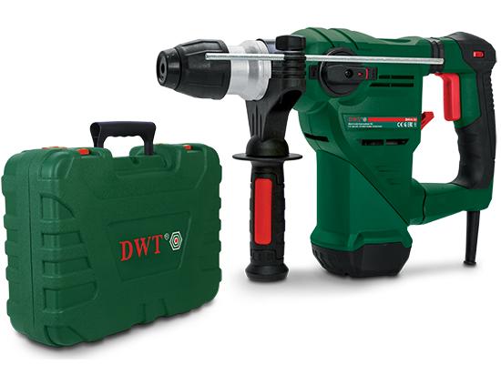 Vrtací a bourací kladivo DWT BH14-32 BMC - SDS PLUS, 1400W, 5J, 5.4kg, v kufru