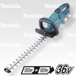 Aku plotostřih Makita DUH651Z - 36V (2x18V), 650mm, 5.2kg, aku nůžky na živý plot, bez akumulátoru a nabíječky