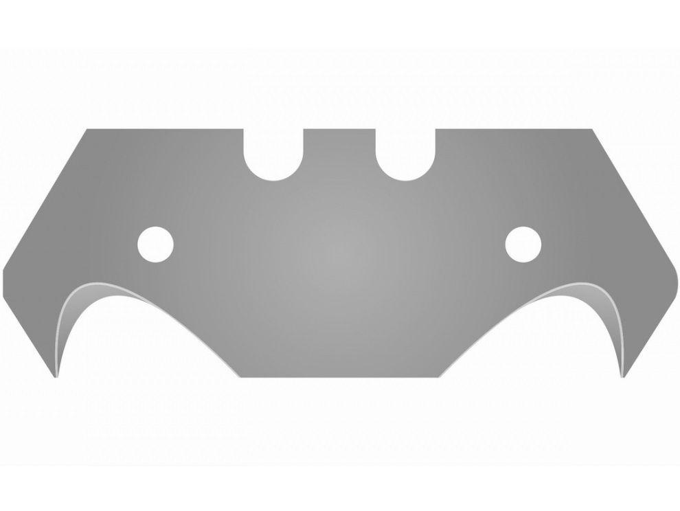 Náhradní nože zahnuté 10ks KREATOR KRT000401, ocel SK5, HD zahnuté, 0,045kg (KRT000401)