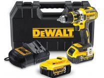 DeWALT DCD990P2B - 2x 18V/5.0Ah XR Li-Ion, 80Nm, 3 rychl., 2.1kg, kufr, aku vrtačka bez příklepu