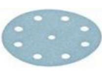 Brusné papíry StickFix Granat Festool STF D125/8 P1500 GR/50 - 125mm, zrnitost P1500, 50ks