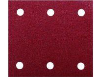 Brusný papír Makita P-33118, 114x102mm, suchý zip - hr.100 - 10ks