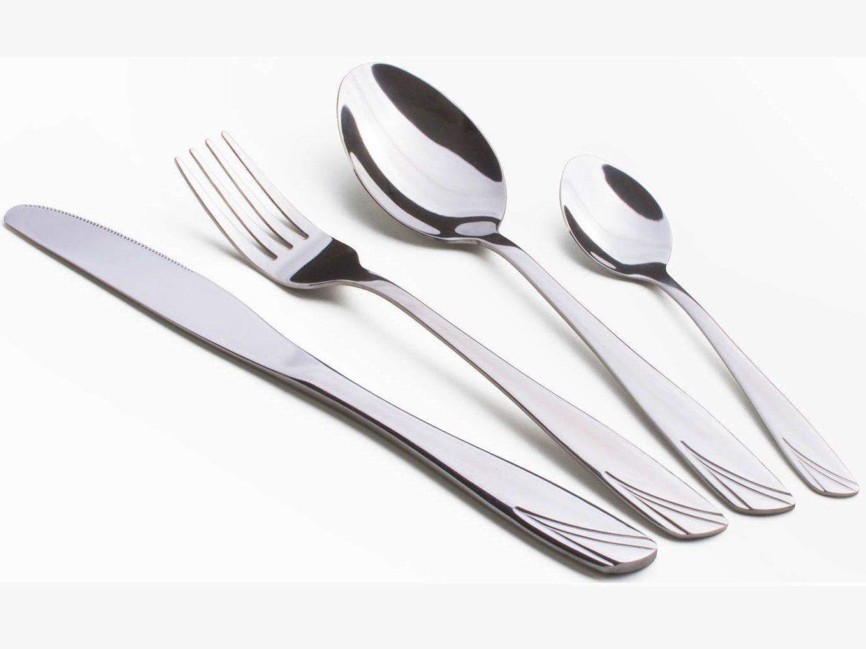 Sada příborů G21 Gourmet Supreme, 24ks, nerezová ocel, stříbrná