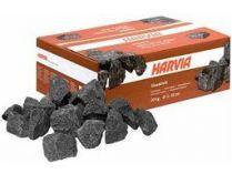 Saunové kameny Harvia 5-10cm červené do finské sauny - 20kg