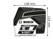Bosch GCL 2-50 CG Professional Křížový laser - 1x aku 12V/2.0Ah Li-Ion + otočný držák RM 2 + stropní držák + kufr L-BOXX 136 (0601066H00) Bosch PROFI