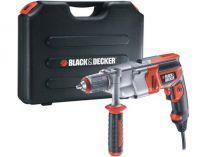 Příklepová vrtačka Black-Decker KR910K v kufru