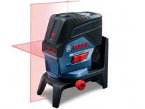 Křížový laser Bosch GCL 2-50 C Professional + otočný držák RM 2 + nástěnný držák BM 3 + kufr L-Boxx, s Bluetooth připojením k smartphonu (0601066G03) Bosch PROFI