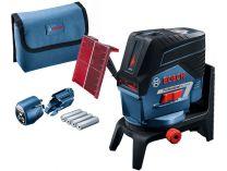 Bosch GCL 2-50 C Professional + RM 2 + adaptér, křížový laser s Bluetooth