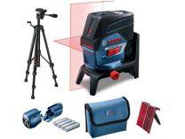 Bosch GCL 2-50 C Professional + BT 150 + RM 2 + adaptér, křížový laser s Bluetooth