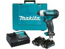 Makita TD110DSAE - 2x 10.8V/2.0Ah, 110Nm, 1.0kg, kufr, multifunkční aku utahovák