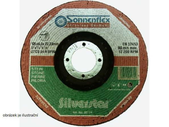 Řezný kotouč Sonnenflex Goldenstar AS46QB 115 x 1,6 x 22,23 mm na kov a nerez